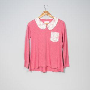 Little angels collar T-shirt