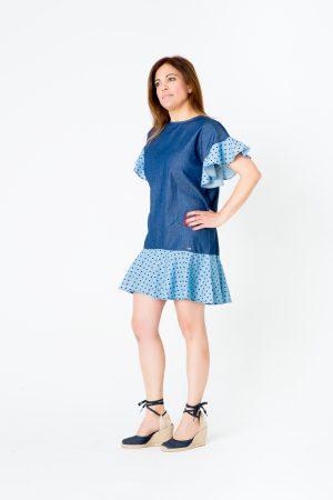 Blusa/Vestido denim