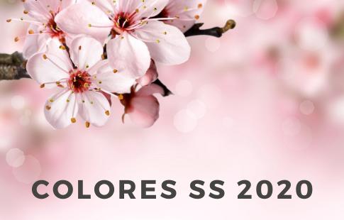¿Qué colores serán tendencia esta primavera verano 2020?